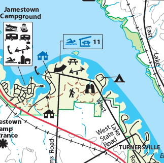 Jamestown Campground, Pymatuning State Park