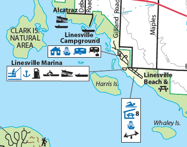 Linesville Campground, Pymatuning State Park